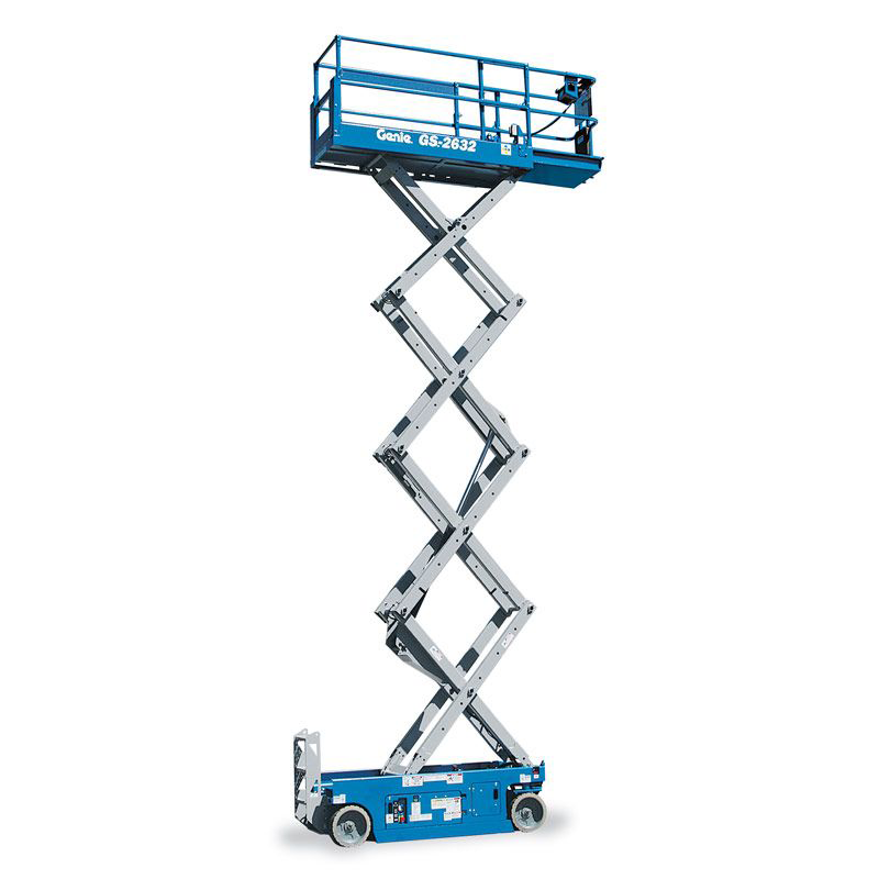 Full Throttle Genie GS-2632 Scissor Lift