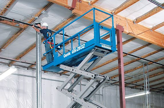 Los Angeles Area Scissor Lift Rental for Genie-GS-2632